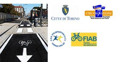 Torino inaugurata la pista ciclabile di corso Vercelli