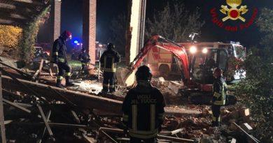 esplosione in un cascinale a Quargnento