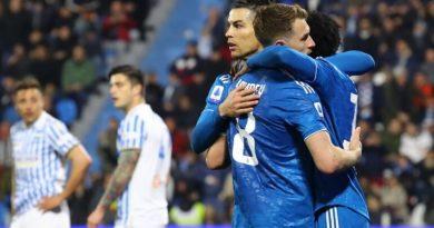 Spal-Juventus 1-2