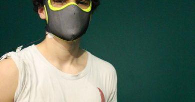 mascherine per lo sport